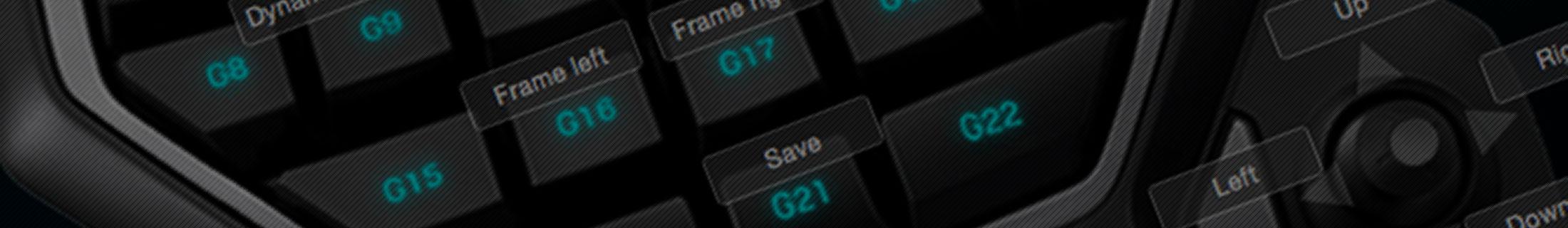 Using Logitech G13 with DaVinci Resolve 12