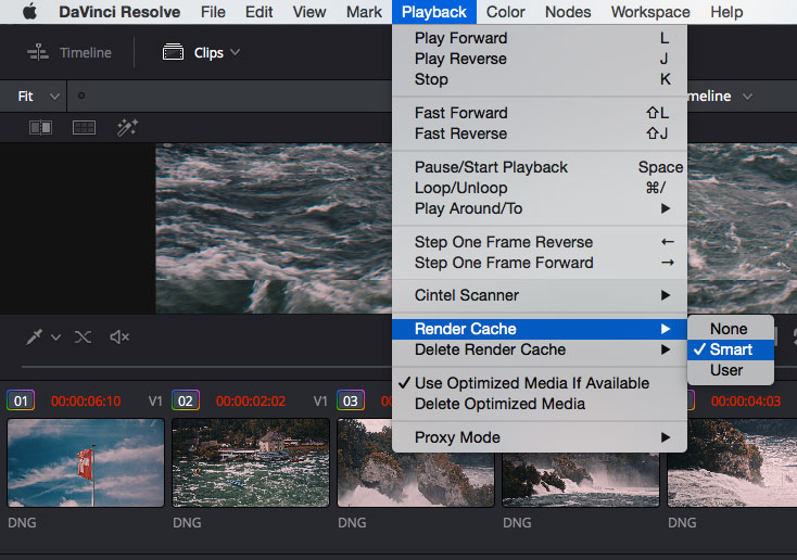 How to improve DaVinci Resolve 12 performance – Time in Pixels