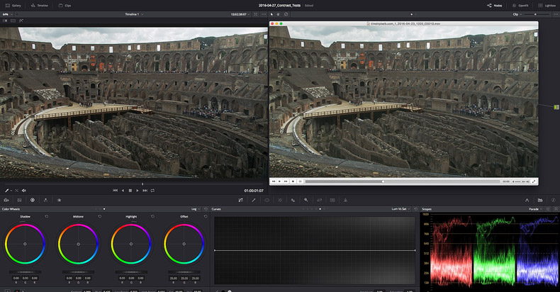 Contrast issues in DaVinci Resolve on Macs – Time in Pixels